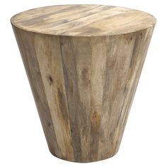 Timber Side Table (16,625 PHP) ❤ liked on Polyvore featuring home, furniture, tables, accent tables, lumber furniture, wood end table, timber furniture, wooden furniture and wooden side table