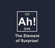 Funny Ah Element of Surprise Meme Picture | Funny-Joke-Pictures .com
