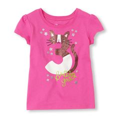 The Childrens Place - A graphic tee to celebrate her third birthday!