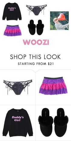 """Roupa Woozi - 1"" by carinemarquesgames on Polyvore featuring Agent Provocateur, Minnie Rose, men's fashion e menswear"