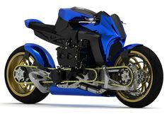 Subaru wrx turbo concept bike