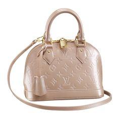 Louis Vuitton Alma BB bag in Rose Louis Vuitton Alma, Vuitton Bag, Louis Vuitton Monogram, Leather Handbags Online, Louis Vuitton Handbags, Purses And Handbags, Cheap Designer Bags, Piercing, Shoes
