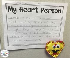 My Heart Person Writ