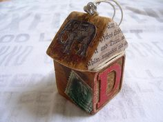 A Funky Primitive House Ornament | Flickr - Photo Sharing!