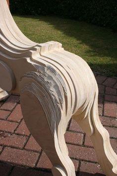 Making a laminated Rocking Horse Rocking Horse Plans, Antique Rocking Horse, Wood Rocking Horse, Wooden Horse, Wooden Animals, Woodworking Toys, Woodworking Supplies, Woodworking Projects Diy, Wood Toys Plans