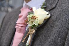 Vendella Rose Boutonniere