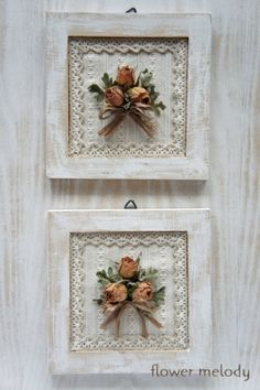 Foto – dried Rose's made into a frame for Rebekahs BIRTHDAY Wohnzimme… - Wohnaccessoires Ideen Shabby Chic Crafts, Vintage Shabby Chic, Shabby Chic Decor, Easy Home Decor, Diy Home Crafts, Jar Crafts, Manualidades Shabby Chic, Picture Frame Crafts, Decoration Bedroom