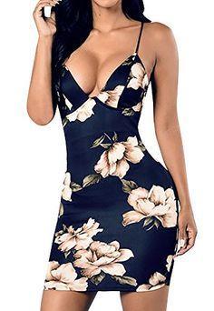 4d7fe43ab80 Dellytop Women s Strappy Floral Midi Bodycon Club Pencil Dress Price    14.99 -  15.99 Girls Maxi
