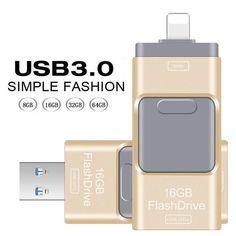 USB 3.0 Flash Drive Speed For Iphone 5/5s/5c/6/6 Plus/7/ipad