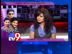 Actors Nikhil, Varun Sandesh and Aadi in Tv9 Studio - Part 2