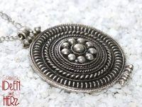 Amulett in silber (Halskette)