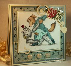 Dog and Cat Tango! by csroyal - Cards and Paper Crafts at Splitcoaststampers