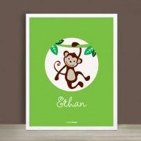 Monkey Print #simpleshapes
