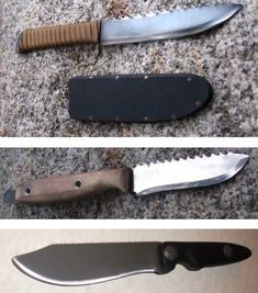 DIY Survival Or Utility Knife: Costs $1 & Takes 1 Hour To Make!