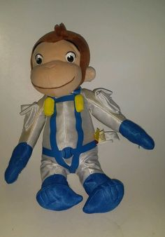 Astronaut George Curious George Is Ready For New