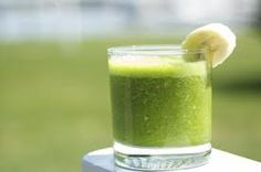 Banana Pineapple Green Drink  1 cup  banana  1 cup  pineapple  2 cups spinach  1 cup water  1. Blend in high-speed blender until smooth.