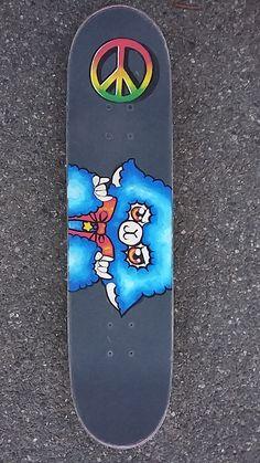 Un skate customisé Mout-mout pour bien commencer l'année  #Skate #Skate custom #bluesheep #peaceandlove #posca #customized #customised skate #custom #alpaga #Alpaca #alpacasso #blue alpacasso #sheep #rocknroll #frenchart #français #personalized #personalizedskate #art #poscacustom #poscaart #hny2016 #happynewyear #my artwork #alinate #alinateart #skater #skateboarding #skatebrand