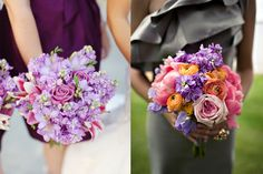 Right Bouquet: Great Style/Structure, Includes the Coral Crush Peonies, Lavender Stock, and Orange Ranunculus