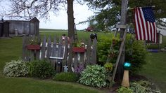 primitive gardens | Primitive Outdoors / Nice Garden Idea
