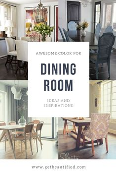 Our dining-room color motivation gallery includes our most prominent color schemes. From modern-day to conventional, obtain motivated by these trendy dining-room paint color. #diningroom#paint#color#ideas#design#wall#table