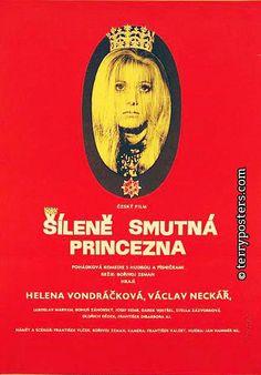 HELENA 50 LET NA SCÉNĚ | Filmový plakát Šíleně smutná princezna