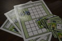 Adding Integers and Subtracting Integers 2012 Frog Bingo