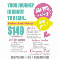 Sign up to become an Origami Owl Designer & receive the Business Starter Kit that is loaded with over $325 in products for only $149!!  I would love for you to join my team today!  For more information, visit my website, www.locketwishes.blogspot.com