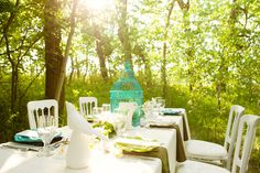 modern teal green wedding nature (14)
