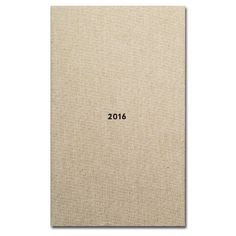 Ola Handbound Grey Diamond Diary 2016 ($26) ❤ liked on Polyvore featuring home, home decor and stationery