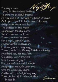 Wicca Night spell