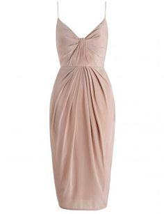 Silk Folded Dress