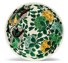 A famille verte 'Dragon' dish, Kangxi six-character mark in underglaze blue within a double circle and of the period (1662-1722)