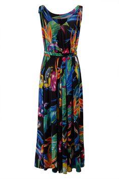 Sacha Drake Bird Of Paradise Maxi Dress - Womens Maxi Dresses - Birdsnest Online