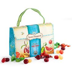 """got wedding party?   Get Torie & Howard organic candy """"IT"""" Bag  at Dean & DeLuca  http://www.deandeluca.com/candy-and-confections/hard-candy-handbag.aspx"""