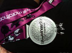 2012 Medal Disney Wine and Dine Half Marathon.So excited to run my second half marathon in November! Sports Medals, Run Disney, Disney Stuff, Running Medals, Disney Marathon, Give It To Me, Take That, Mind Body Spirit
