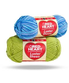 Red Heart Luster Sheen