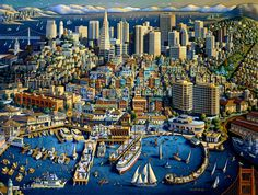 San Francisco - By, Eric Dowdle