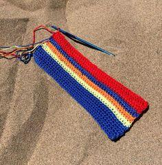 Estuche para lápices en crochet | Aprender manualidades es facilisimo.com