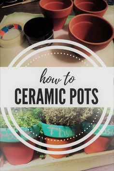 This short DIY project will make your home just a little bit more bright. With these pots you can make your living room a little bit more flowery, or you can fill your kitchen with all different kind of herb, spices or small vegetables. Watch it grow and don't forget to write on it what you're growing or else you might mix your herbs up. Also you can use to learn kids about different herbs or flowers by making it... Read More  Read More