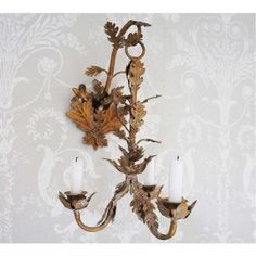 Acanthus Wall Sconce by The French Bedroom Company, on sale now!