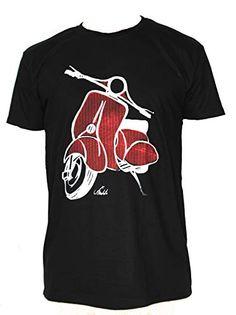 Original T-shirts VESPA7 Talla XL 75/58 cm. Camiseta Negra de Hombre de algodón. Original T-shirts Rhinos, Vespa, Mens Tops, T Shirt, Fashion, Black T Shirt, Cotton T Shirts, Photo Storage, Fashion Brand