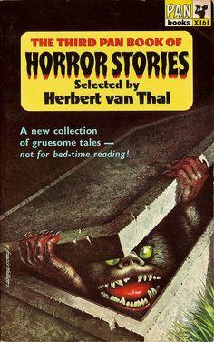 The Third Pan Book of Horror Stories by Herbert van Thal http://horrorpedia.com/2013/10/01/pan-book-of-horror-stories/