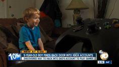 Canadauence TV: Tecnologia: Garoto de cinco anos descobre como bur...