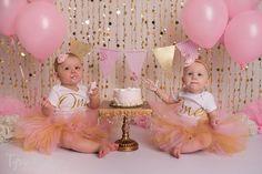 One Year Cake Smash Session - Kansas City Baby Photographer