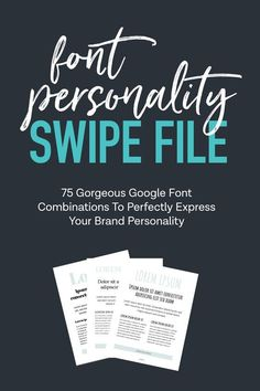 Font Personality Swipe File | Branding Tips | Brand Inspiration | Brand personality identity | Branding yourself entrepreneur | Blog branding ideas | Blog branding identity #brandingdesign #branding101 #brandingstrategy #brandidentity #brandidentitydesign #brandinginspiration #brandingtips #brandyourself