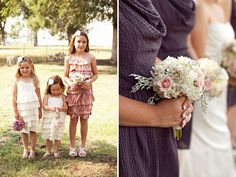 Beautiful bouquet with dusty miller, carnations? chrysanthemums? and just a few roses... Oklahoma DIY Wedding For Book Lovers: Rebecca + Lucas