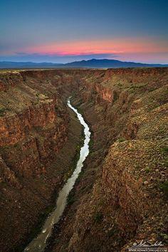 Rio Grande - Taos Box Canyon  New Mexico