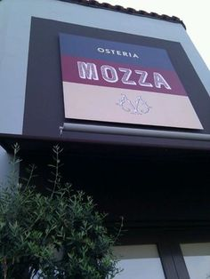 Osteria Mozza. Los Angeles, California. One of my best dinners ever