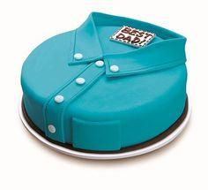 Una tarta decorada con fondant especial para el Día del Padre, ¡genial! Idea de @letsgosago #DiaDelPadre #Papa
