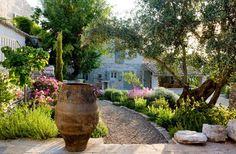 garden in the Rou Estate in Corfu
